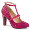 QUEEN-01 Hot Pink Glitter